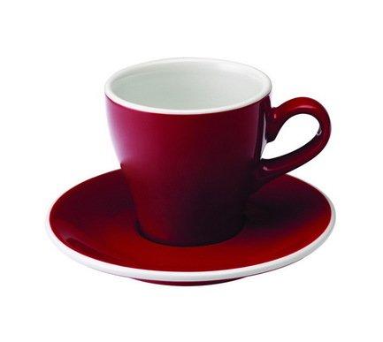 Чайная пара Loveramics Tulip (0.18 л), красная