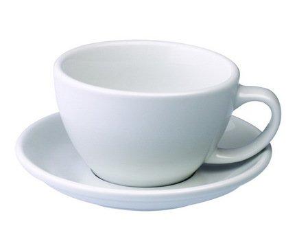 Чайная пара Loveramics Egg (0.3 л), белая