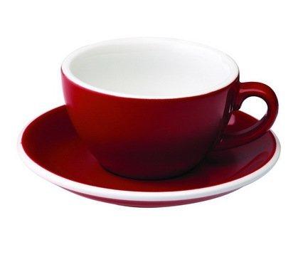 Чайная пара Loveramics Egg (0.2 л), краснаяЧашки и Кружки<br><br><br>Серия: Egg<br>Состав: Чашка (0.2 л), 9.5х5.5 см - 1 шт., Блюдце, 14.5х2.5 см - 1 шт.