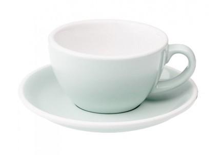 Чайная пара Loveramics Egg (0.2 л), голубаяЧашки и Кружки<br><br><br>Серия: Egg<br>Состав: Чашка (0.2 л), 9.5х5.5 см - 1 шт., Блюдце, 14.5х2.5 см - 1 шт.