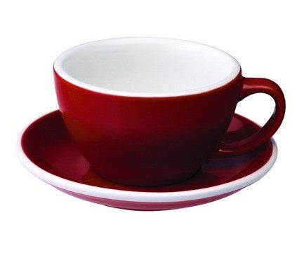 Чайная пара Loveramics Egg (0.3 л), красная