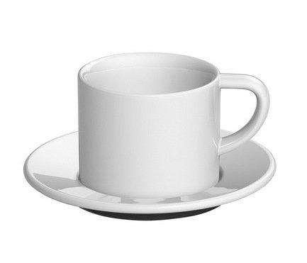 Кофейная пара Loveramics Bond (0.15 л), белаяЧашки и Кружки<br><br><br>Серия: Bond<br>Состав: Чашка (0.15 л), 8х6.5 см - 1 шт., Блюдце, 14х1.5 см - 1 шт.