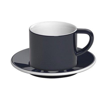 Кофейная пара Loveramics Bond (0.15 л), синяяЧашки и Кружки<br><br><br>Серия: Bond<br>Состав: Чашка (0.15 л), 8х6.5 см - 1 шт., Блюдце, 14х1.5 см - 1 шт.