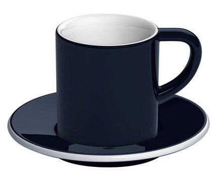 Кофейная пара Loveramics Bond (0.08 л), белаяЧашки и Кружки<br><br><br>Серия: Bond<br>Состав: Чашка (0.08 л), 6х6.5 см - 1 шт., Блюдце, 11.5х1.5 см - 1 шт.