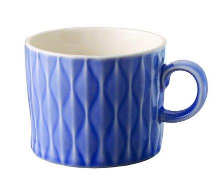 Кружка Loveramics Weave (0.38 л), 6.6х5 см, синяяЧашки и Кружки<br><br><br>Серия: Weave