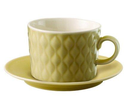 Чайная пара Loveramics Weave (0.28 л), бежеваяЧашки и Кружки<br><br><br>Серия: Weave<br>Состав: Чашка (0.28 л), 9.8х7 см - 1 шт., Блюдце, 11.6х2 см - 1 шт.