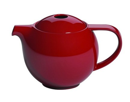 Чайник Loveramics Pro Tea (0.9 л), 21х14.5 см, красный