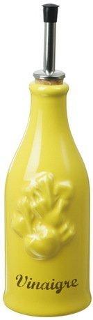Бутылка для уксуса Прованс (0.25 л), 23х6.5 см, желтая с серым (P95-129-2105)