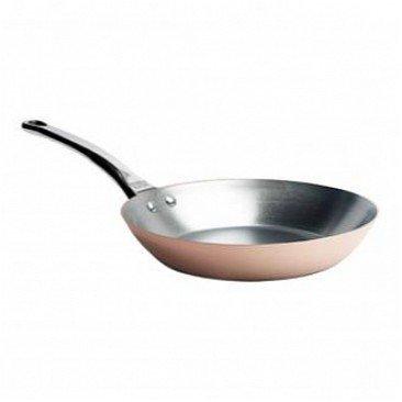 Сковорода, 22 см, с чугунной ручкой, классическая медь (6465.22) от Superposuda