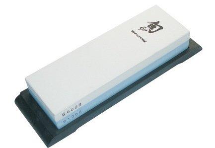 Комбинированный шлифовальный камень, зернистость 1000/6000, 18.4х6.2х2.8 см (DM-0600) Kai 00028912