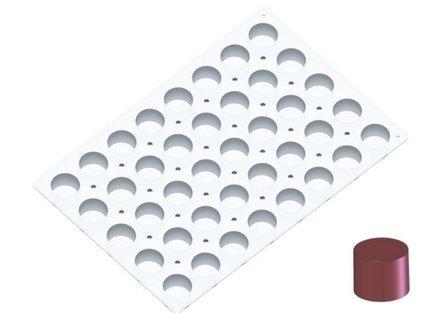 Силиконовая форма MoulFlex Pro, цилиндры, 40 ячеек (94 мл), 5.5 см, 60х40 см (1719.90)Силиконовые формы<br><br><br>Серия: MoulFlex Pro