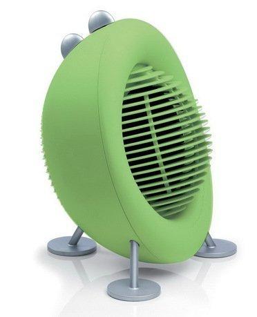 Тепловентилятор Max air heater lime, 29x37x27 см, лаймУвлажнители и Очистители воздуха<br>Компактный тепловентилятор Max вам обязательно понравится своим стильным дизайном, яркой расцветкой и хорошим набором функциональных качеств. В нем есть 3 режима работы, в том числе и функция защиты от замерзания, которая не даст температуре опуститься ниже 5&amp;deg; С, термостат, позволяющий регулировать уровень нагрева и терморегулятор. Прибор может работать в качестве вентилятора в режиме холодного воздуха. Тепловентилятор работает практически бесшумно, не нарушая комфортное пребывание в помещении. Он отлично обогревает помещение площадью 17 кв.м.     Характеристики:   Высота: 37 см  Ширина: 29 см  Глубина: 27 см  Мощность: 800/2000 Вт  Уровень шума: не более 40 дБ  Вес: 2.5 кг<br>