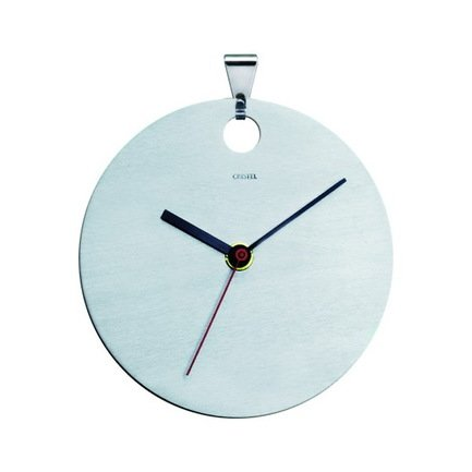 Настенные часы, матовые, из нержавеющей стали (TCH)Настенные часы<br><br><br>Серия: Навеска