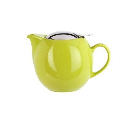 Заварочный чайник Сатурн (0.5 л), серо-зеленая сетка (TH05SGC)Заварочные чайники и Кофейники<br>В этом красивом чайнике чай получается очень насыщенным, ароматным и долго остается горячим. Фарфоровая ручка в форме «ушка» гармонирует с шарообразной формой чайника и аккуратным изгибом его небольшого носика. Плотно закрывающаяся стальная крышка не выпадает при наклоне.<br><br>Серия: Theieres