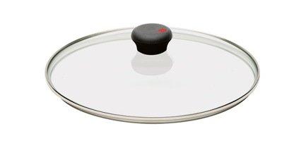 Крышка Куквэй One, 24 см, стеклянная с бакелитовой ручкой (CWOK24C) Cristel 00036747