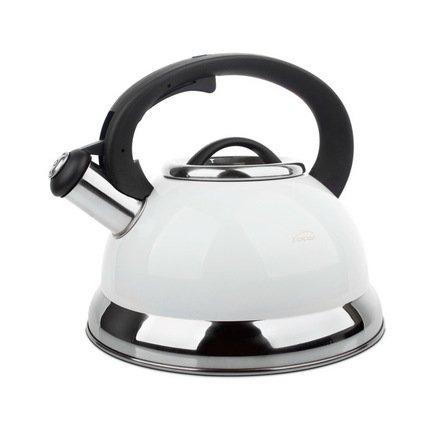 Чайник для кипячения воды Lacor (2.5 л), 19x14 см, белый