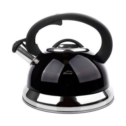 Чайник для кипячения воды Lacor (2.5 л), 19x14 см, черный