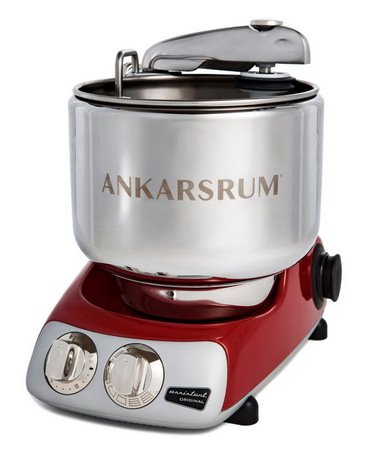 Кухонный комбайн Original Assistant AKM6220R (7 л), базовый комплект, 26.8х36х40 см, красный Ankarsrum 930900085