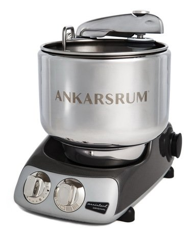 Кухонный комбайн Original Assistant AKM6220BC (7 л), базовый комплект, 26.8х36х40 см, черный хром
