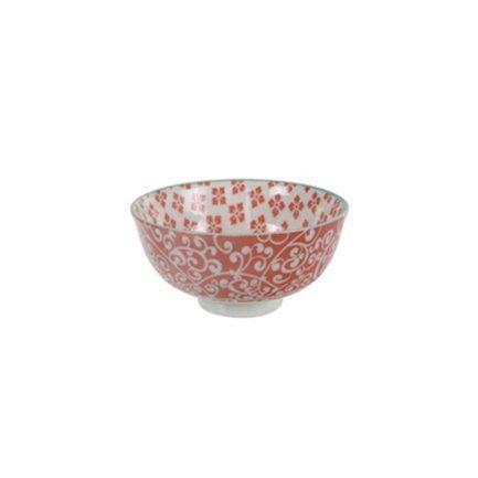 Чаша Tokyo Design Bohemian Printemps, красная, 12x6 см