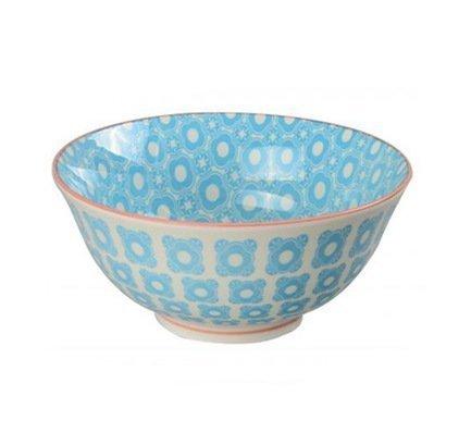 Чаша Tokyo Design Colored, голубая, 15.5x7 смСалатницы, Супницы<br>Фарфоровая чаша небольшого диаметра не только красива, но и довольно практична и удобна. Ее предназначение – порционная подача салатов и закусок. Также она может использоваться как пиала для индивидуальной подачи каш, супов или лапши или общих закусок и салатов, которые сервируются маленькими порциями.<br><br>Серия: Colored