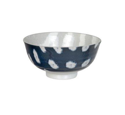 Чаша Tokyo Design Kasuri, сине-бежевая, 11.2x5.5 см