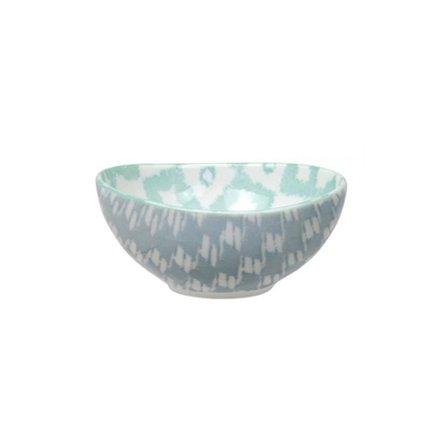 Чаша Tokyo Design Kasuri, голубо-зеленая, 10.5х5 см