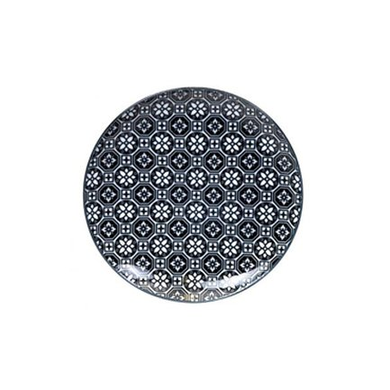 Тарелка Tokyo Design Nippon Flower, синяя, 16x2 см
