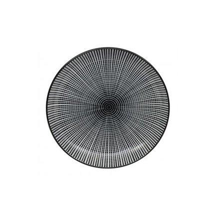 Тарелка Tokyo Design Sendan, черная, 15.5x2.5 смТарелки и Блюдца<br>Плоская фарфоровая тарелка небольшого диаметра отлично подходит для подачи персональных закусок и десертов. На этой красивой тарелке вы можете подать участнику чаепития порцию торта, пирожного или другого десерта, не забыв при этом добавить маленькую вилочку или ложку.<br><br>Серия: Sendan