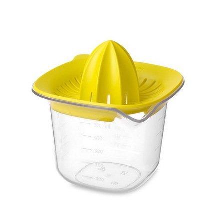 Соковыжималка с мерным стаканом (0.5 л), желтыйСоковыжималки ручные<br><br>