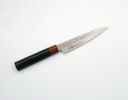 Нож универсальный Senzo, 15 см, сталь VG10, дамаск