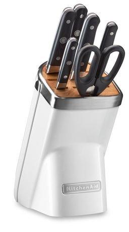 Набор ножей, 7 пр., морозный жемчуг KitchenAid KKFMA07FP