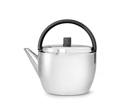 Чайник заварочный Celebrate (1 л), черныйЗаварочные чайники и Кофейники<br>Красивый заварочный чайник изготовлен из нержавеющей стали высочайшего качества и прочности. Идеален для заваривания любого сорта чая - черного, зеленого или травяного сбора.<br><br>Серия: Celebrate