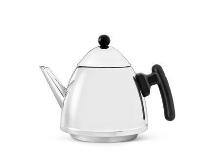 Чайник заварочный Chapeau (1.2 л), черныйЗаварочные чайники и Кофейники<br>Красивый заварочный чайник изготовлен из нержавеющей стали высочайшего качества и прочности. Идеален для заваривания любого сорта чая - черного, зеленого или травяного сбора.<br>