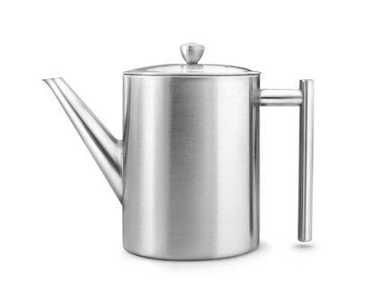 Чайник заварочный Cylindre (1.2 л), глянцевыйЗаварочные чайники и Кофейники<br>Красивый заварочный чайник изготовлен из нержавеющей стали высочайшего качества и прочности. Идеален для заваривания любого сорта чая - черного, зеленого или травяного сбора.<br>