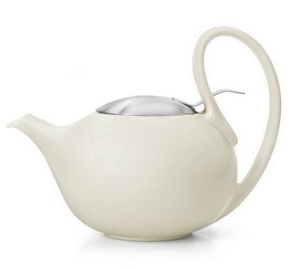 Чайник заварочный Jasmin (0.9 л), кремовый