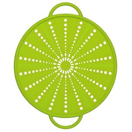 Экран защитный от брызг Smart Kitchen 514557, 26 см, зеленый