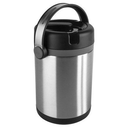 Термос для еды Mobility 509245 (1.7 л), 2 контейнера, черный