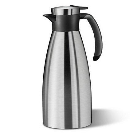 Термос-кофейник Soft Grip 514499 (1.5 л), черныйТермосы<br><br><br>Серия: Soft Grip