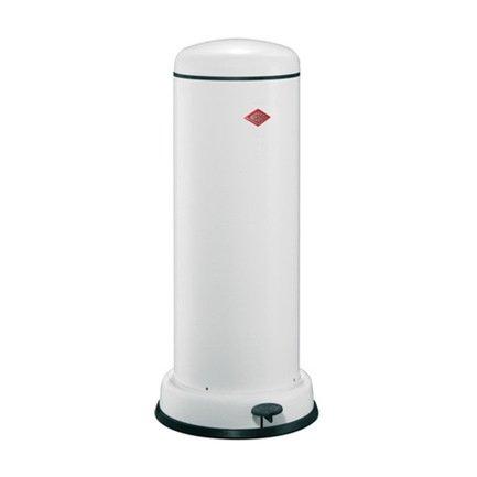 Ведро для мусора с педалью (30 л), 36.2х80 см, белый (117557) Wesco 135731-01