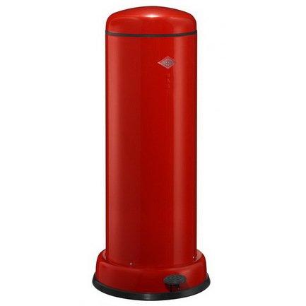 Ведро для мусора с педалью (30 л), 36.2х80 см, красный (117558)