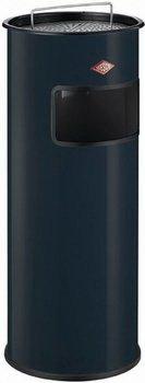 Ведро для мусора с ситом и алюминевой пепельницей (50 л), 74х32 см, антрацит (150801-60)Мусорные баки<br>Практичный и стильный контейнер-пепельница может использоваться как внутри помещений, так и на улице.<br><br>Серия: Ashtray