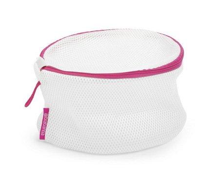 Мешок для стирки бюстгальтеров, 19х14 см, белыйАксессуары для ванной<br><br>