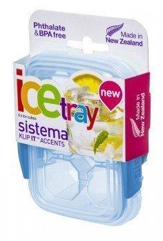 Контейнер для льда Klip IT Accents (150 мл), малый, 11.5х9х4.2 смФормы для льда и шоколада<br>Контейнер с маленькими отделениями-ячейками - удобный аксессуар для приготовления льда. С ним у вас всегда будет нужная порция льда в кубиках для добавления в различные напитки. Также контейнер подойдет для хранения и заморозки детского питания и соусов.<br><br>Серия: Klip-it