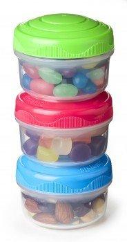 Мини контейнеры To Go (130 мл), 7.5х18.7 см, 3 шт.Контейнеры<br>Набор мини-контейнеров с закручивающимися крышками удобен для хранения разнообразных снеков. Это многофункциональные контейнеры, которые пригодятся для хранения сладостей, йогуртов, сыпучих продуктов и школьных ланчей.<br><br>Серия: To-go