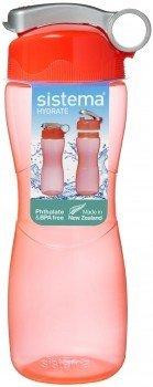 Бутылка для воды Hydrate (645 мл), 8.7х7.5х22.6 смТермосы<br>Прозрачная спортивная бутылка Sistema Sport Fusion - удобная емкость для воды, незаменимый девайс для активного времяпрепровождения. Бутылка имеет носик для питья, и открывать ее и пить воду удобно даже на ходу.<br><br>Серия: Hydrate