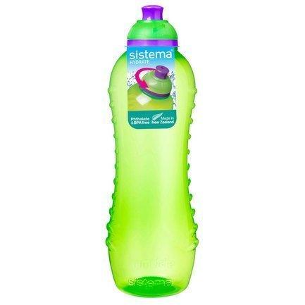 Бутылка для воды Hydrate (620 мл), 6.7х22.5 смТермосы<br>Прозрачная спортивная бутылка Sistema Sport Fusion - удобная емкость для воды, незаменимый девайс для активного времяпрепровождения. Бутылка имеет носик для питья, и открывать ее и пить воду удобно даже на ходу.<br><br>Серия: Hydrate
