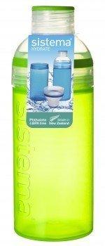 Питьевая бутылка Трио (580 мл), 7.5х20.9 смТермосы<br>Прозрачная спортивная бутылка - удобная емкость для воды, незаменимый девайс для активного времяпрепровождения. Бутылка плотно закрывается крышкой, открывать ее и пить воду удобно даже на ходу.<br><br>Серия: Trio