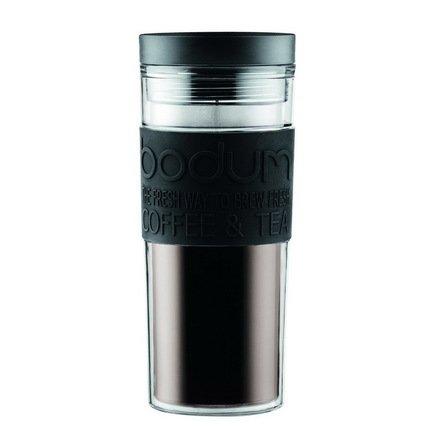 Кружка дорожная Travel (0.45 л), черная