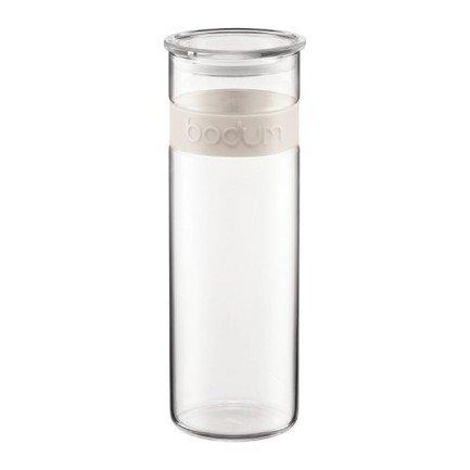 Банка для хранения Presso (1.9 л), белаяБанки для сыпучих<br><br><br>Серия: Presso